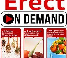 Erect on demand